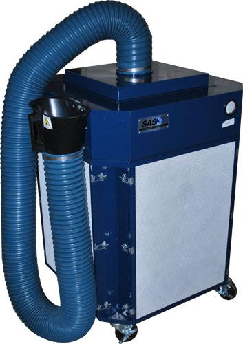 Extractor de humo industrial de alta resistencia para - Extractores de humo ...